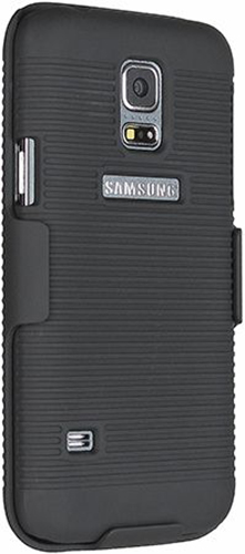 Samsung Galaxy S5 Mini Case + Belt Clip Shell Holster