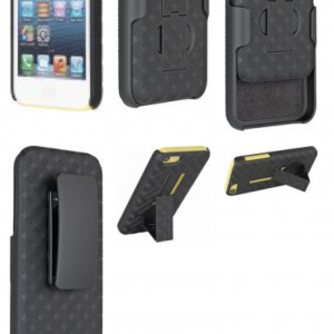 Verizon OEM Swivel Holster Shell Case Belt Clip+Kick Stand for Apple iPhone 5C