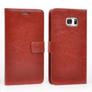 Samsung Galaxy S6 Edge Plus Leather Wallet Case