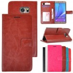 Leather Wallet Case S6 edge plus