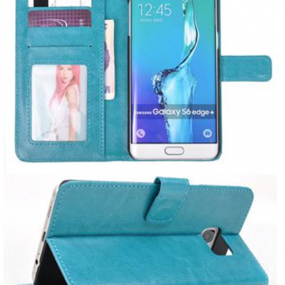 TPU Leather Wallet Case For Samsung Galaxy S6