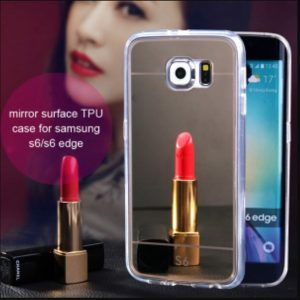 mirror electroplate phone case
