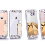 Diamond Crystal Mirror Case
