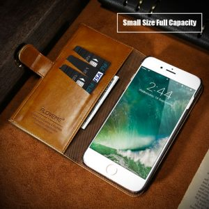 luxury iphone leather case brown-2